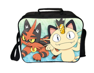 Pokemon lunch box series lunch bag meowth