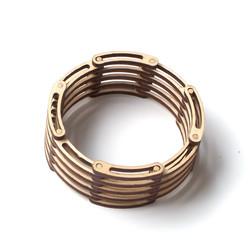 Contemporary wooden bracelet links 1