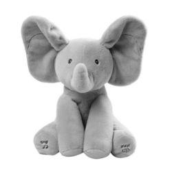 Baby elephant peek a boo pal flash toy