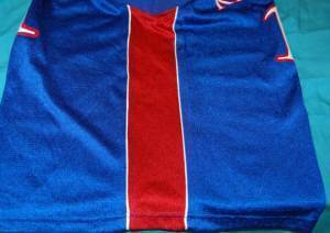 Adidas Youth KU Basketball Jersey Medium Number 1
