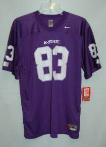 Nike Collegiate Licensed KState Football Jersey YouthXL