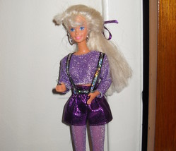 Barbie Doll Wearing Purple Outfit - $5.99