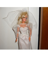 1993 Barbie Doll In Wedding Gown!! - $5.99