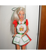 Barbie Doll Wearing Gingerbread Cookie Apron - $5.99