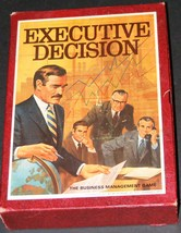 1971 Executive Decision Bookcase Game - $23.40