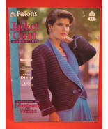 Patons Indian Jacket Sweater Coats 10 Knitting Pattern  - $9.99
