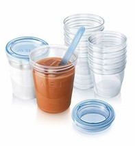 Philips Avent Reuseable Breast Milk Storage Cups 10Pk - $40.40