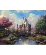Thomas Kinkade A New Day at the Cinderella Castle - $2,200.00