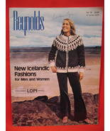 Reynolds Icelandic Lopi Yarn Sweaters Knitting Patterns  - $9.99