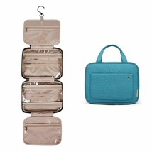 Toiletry Travel Bag Hanging Hook Water-Resistant Makeup Cosmetic Organiz... - $34.98