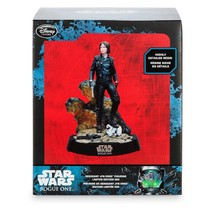 STAR WARS DISNEY STORE JYN ERSO STATUE LIMITED EDITION #145 OF 500 w/ COA - $84.96