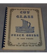 Catalog Cut Glass Price Guide Identification Alpha Ehrhardt 1973 - $9.95
