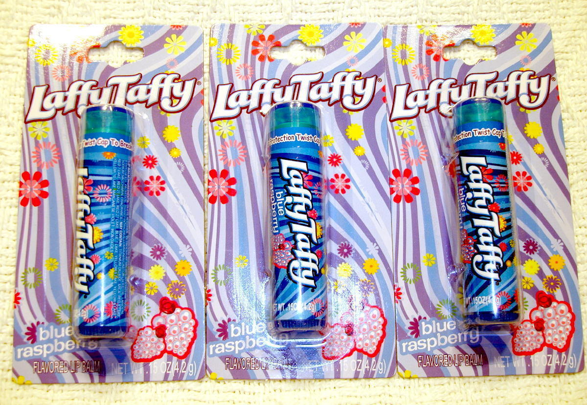 Laffy taffy blue raspberry lip balm 1