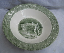 ROYAL CHINA OLD CURIOSITY SHOP ROUND VEGETABLE SERVING BOWLS 10 GREEN VI... - $19.34