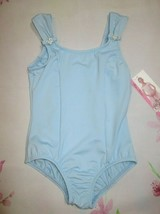 Blue Leotard New Girl's 8-10 (Fits 6-8) Dance Ballet Body Wrappers SC IC - $12.99