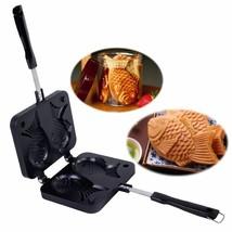 Waffle Maker Fish Shaped Pan Taiyaki Japanese Design High Quality Non St... - $28.94