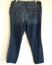 Paige Jimmy Crop Quincy Skinny Boyfriend Distressed Denim Jeans Stretch ... - $29.69