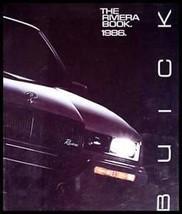 1986 Buick Riviera Prestige Brochure Xlnt! - $3.63