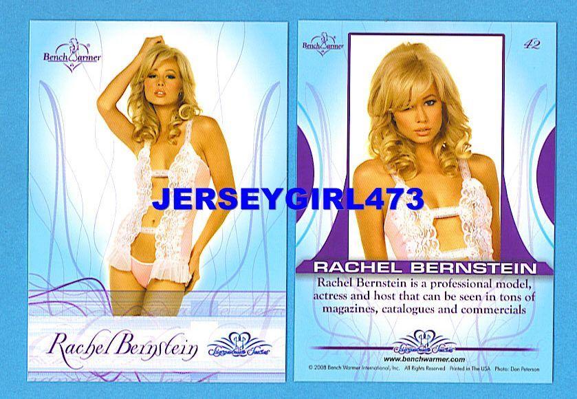 Sexy Rachel Bernstein 2008 Bench Warmer Signature Series Card #42