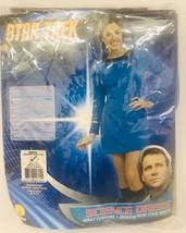 Halloween Costume Star Trek Blue Science Dress Rubies Womens Size S Dres... - $20.89