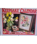 1995 Cross Stitch Keepsake Collection Projects Calendar - $9.99