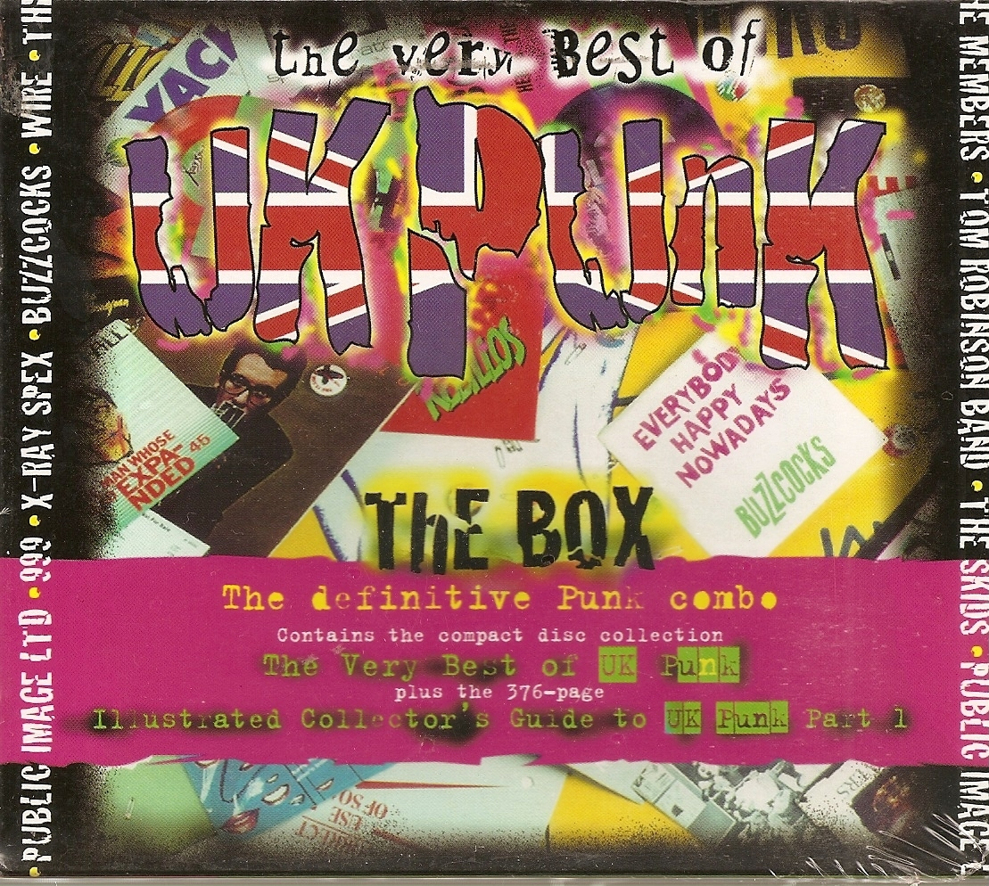 CD--The Very Best of UK Punk [#2] by Various Artists