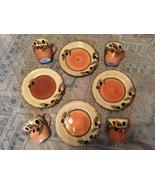 Clay Art Oliva Italiana 8.5-inch Salad Plates & Mugs (set of 8) - $40.00