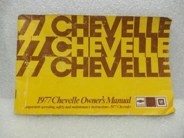 1977 CHEVELLE  Owners Manual 16057 - $16.82