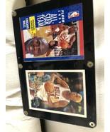 1991 & 1996 Topps Michael Jordan & Dennis Rodman Card Near Mint In Displ... - $99.99