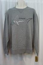 Tasso Elba Sweater Sz XXL Medium Heather Grey Cotton Blend Crewneck Swea... - ₨2,459.30 INR