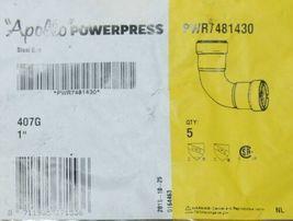 Apollo Powerpress PWR7484130 1Inch Press Carbon Steel 90 Degree Elbow HNBR Bag 5 image 3