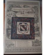 Quilt Pattern Log Cabin Design, Bluebirds,Vintage  - $5.99