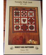 Pattern Sampler Wall Quilt  - $5.69