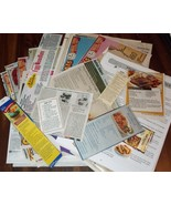 150 plus Misc. Recipes: Handwritten, Off Boxes,... - $5.50