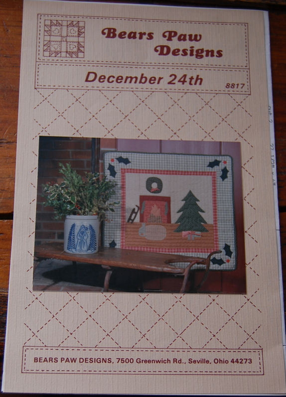 "Pattern ""December 24th""  Wall Hanging"