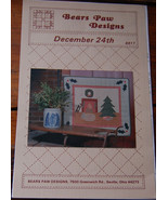 "Pattern ""December 24th""  Wall Hanging  - $5.00"