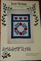 """Pattern """"Rose Fantasy"""" Wall Hanging - $4.99"""
