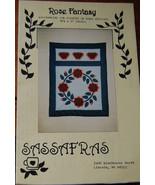 """Pattern """"Rose Fantasy"""" Wall Hanging - $5.69"""