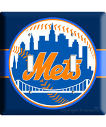 NEW YORK METS NY BASEBALL MLB DOUBLE LIGHT SWITCH PLATE - $11.99