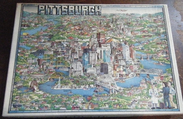 City of Pittsburgh 500 Piece Jigsaw Puzzle