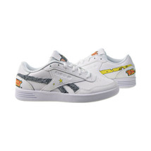 Reebok Club Memt Tom And Jerry Women's Shoes White-Cloud Grey-Yellow H02274 - $50.25