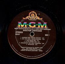 DOCTOR SHIVAGO,THE ORIGINAL SOUND TRACK ALBUM, 1966, MGM image 5
