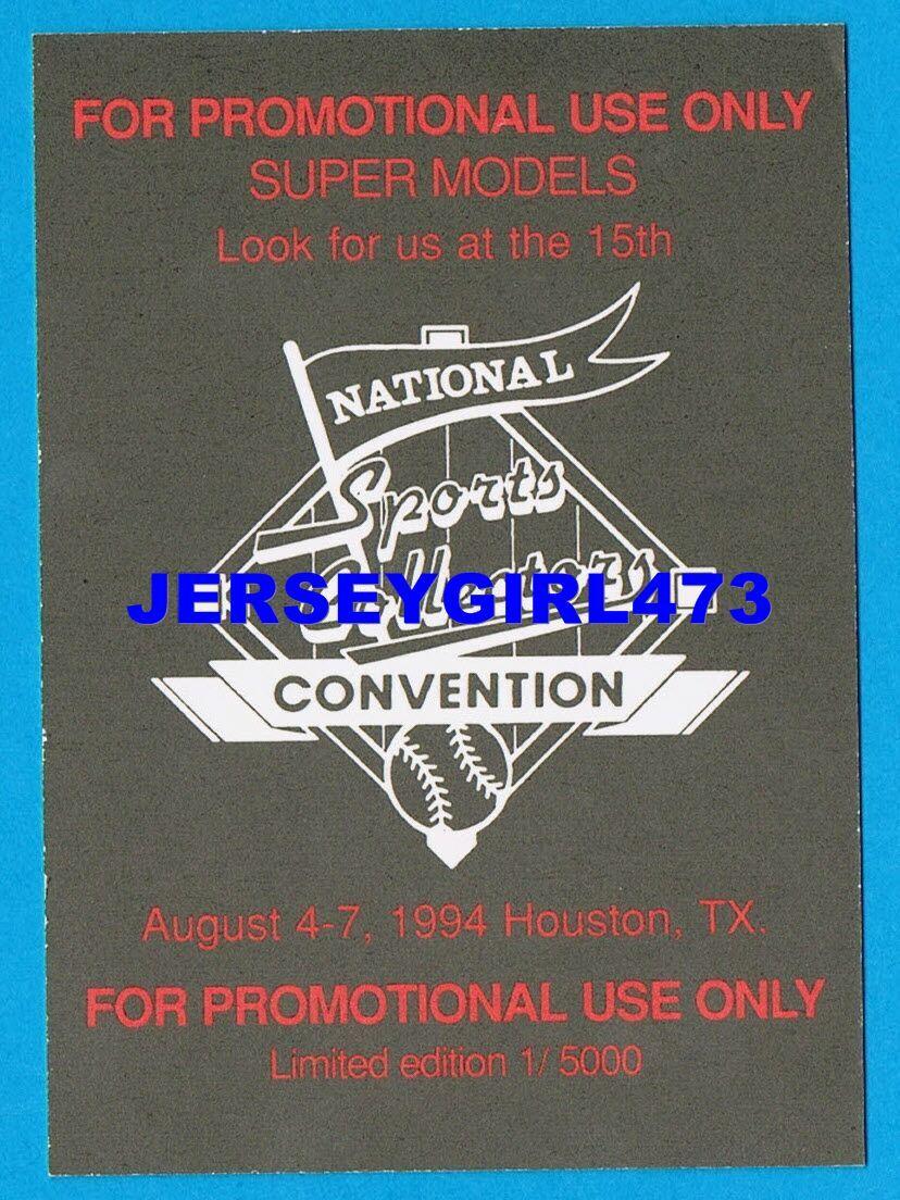 Elle Macpherson 1994 NSCC Super Models Limited Edition Promo Card 1/5000