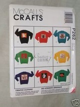 McCall's Crafts P262 Creative Clothing 8 Appliques - $3.95