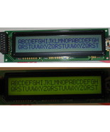 HD44780 24x2 Yellow LCD with Backlight - $11.49