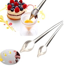 Chocolate Mold Spoon Cake Pastry Baking Decorating Tool Stainless Steel ... - ₨628.63 INR