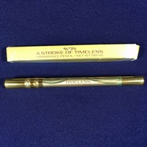 Vintage 1981 Avon A Stroke of Timeless Fragrance Pencil Purse/Travel Col... - $9.46