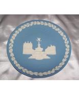 Wedgwood Jasperware 1971 Christmas Piccadilly Circus Plate/  - $34.00
