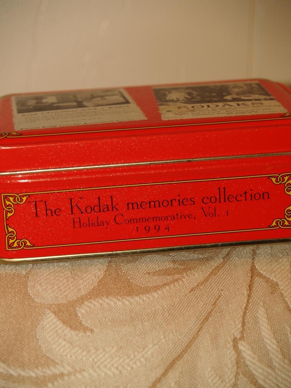 Kodak memories collection tin