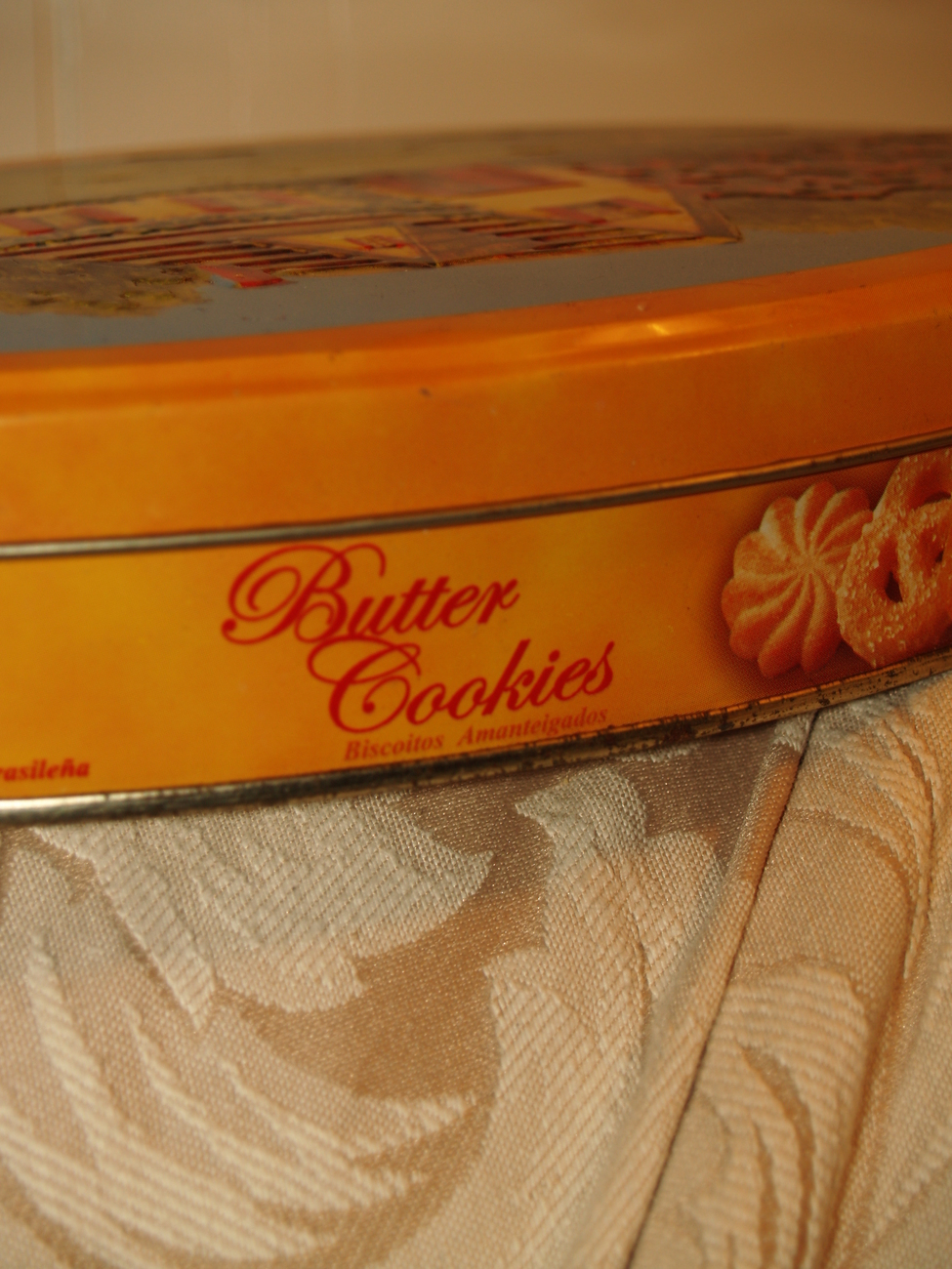 Butter cookie Tin Can
